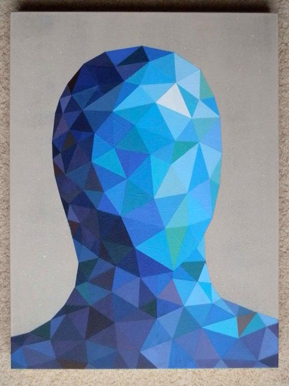 GARETH MORGAN The Narrator (Acrylic on canvas)