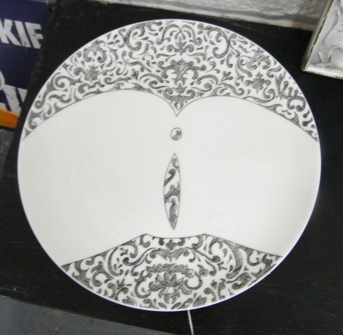 LOOLIE HAPGOOD - China plate