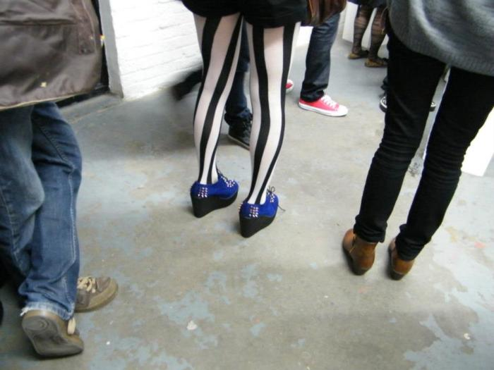Shoes in the Gallery (Sean Worrall)