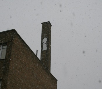 Stik in the snow, Hackney 2010
