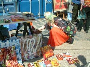 Cultivate at Art Car Boot Fair, 2012