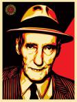 """BURROUGHS"" PRINT RELEASE (Feb 2014) A SHEPARD FAIREY X KATE SIMON COLLAB ON SPECKLETONE PAPER."