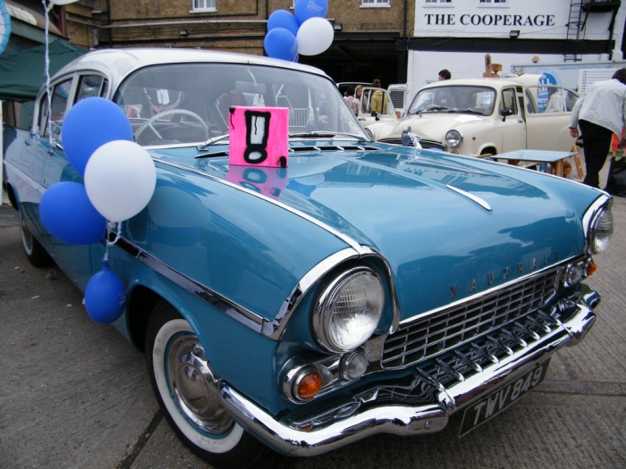 Exclaiming at the 2013 Art Car Boot Fair
