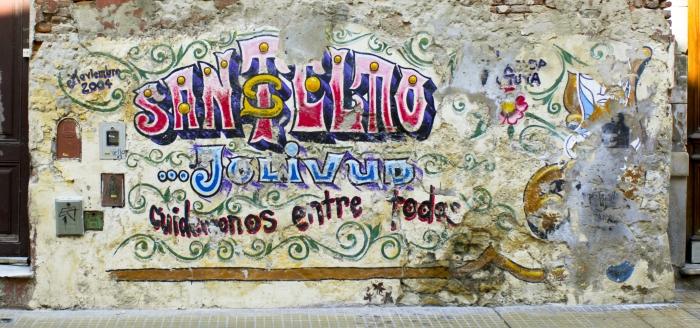 Street art in La Boca (Buenos Aires)
