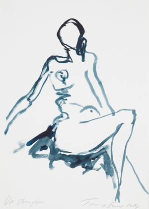Up Straight (2014). Tracey Emin