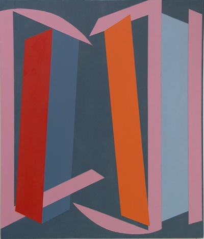 Vanessa Jackson, 'Fling' (2013), oil on canvas, 132 x 114 cm