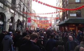 Chinatown, Soho, New Year 2014