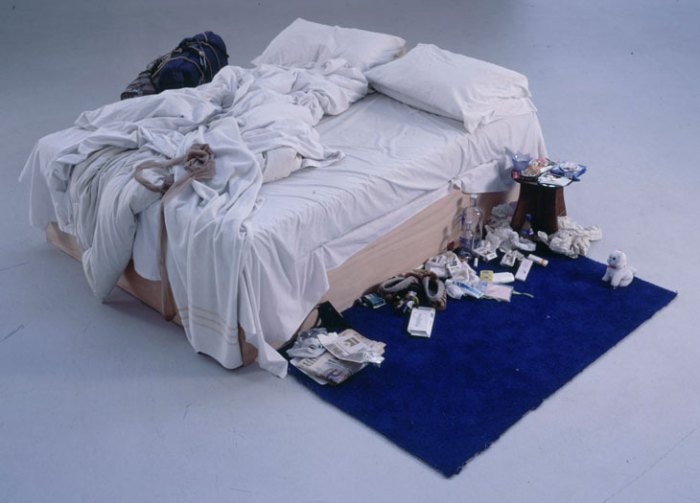 Tracey's bed