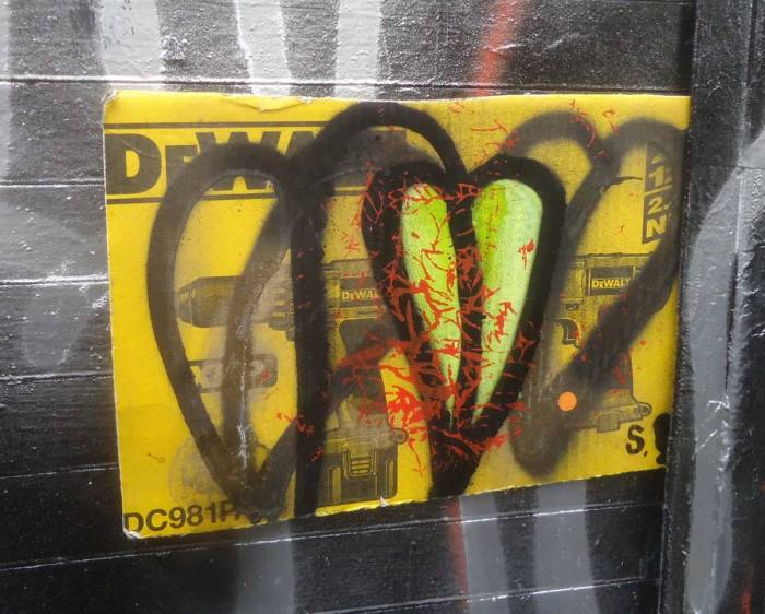 #365ArtDrops part 76, Easter Sunday, Brick Lane