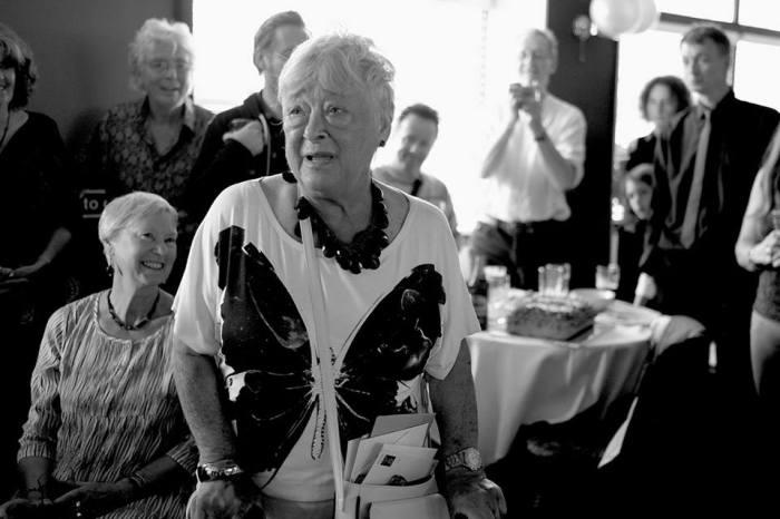 Poison Girls' Vi Subversa celebrated her eightieth birthday