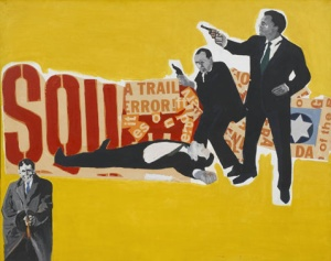 Rosalyn Drexler, The Defenders, 1963