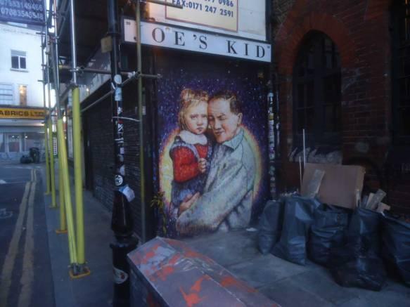 JIMMY C, on the street, London 2015