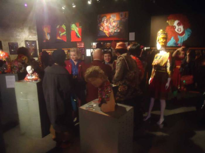 The World of Diane Goldie, Vaults Gallery, LeakeTunnel