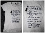 Siren Kult - Deadcuts setlist shirts