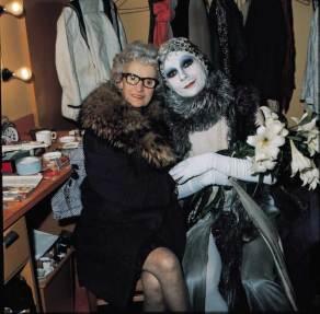 Lindsay Kemp & mother (Mick Rock)