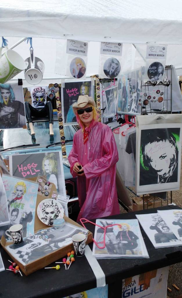 ART CAR BOOT FAIR, LONDON, 2016, Pam Hogg