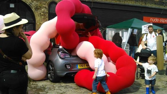 ART CAR BOOT FAIR, LONDON, 2016