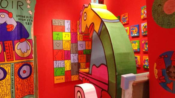 Thierry Noir, Howard Griffin Gallery, June 2016