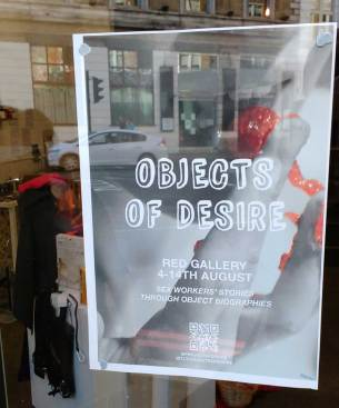 OBJECTS OF DESIRE - Red Gallery, August 2016