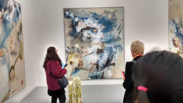 FRIEZE LONDON 2016: Lucy Dodd