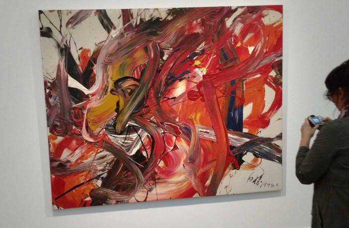 Shozo Shimamoto at Frieze Masters
