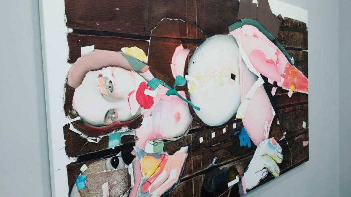 "FRIEZE LONDON 2016 - Magnus Plessen: ""Untitled (23)"" (2016)"