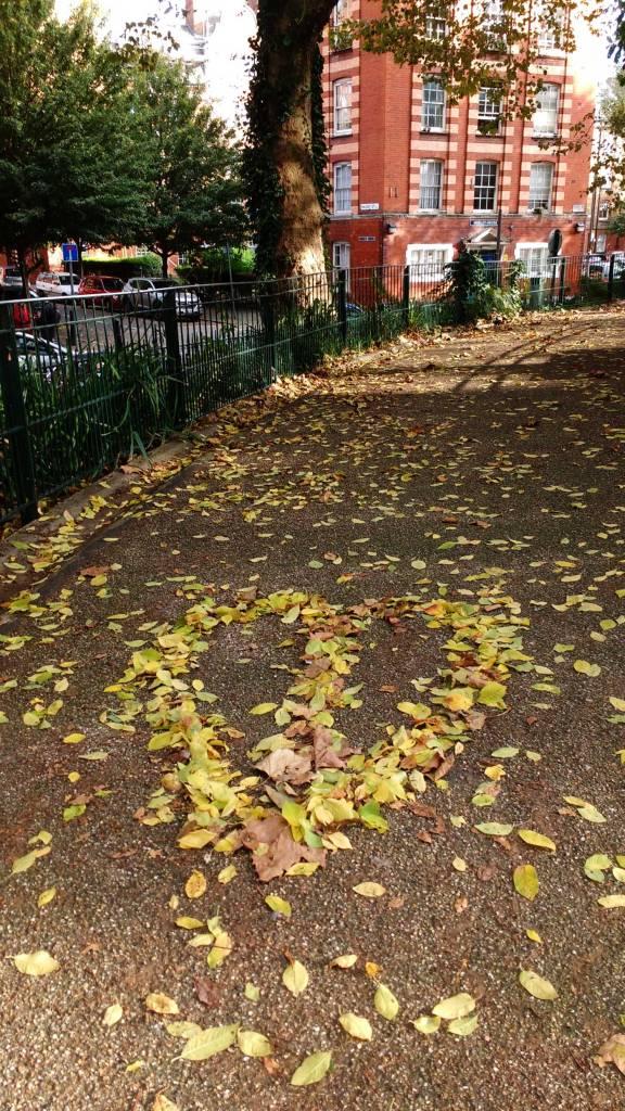 A Leaf, East London, October 2016