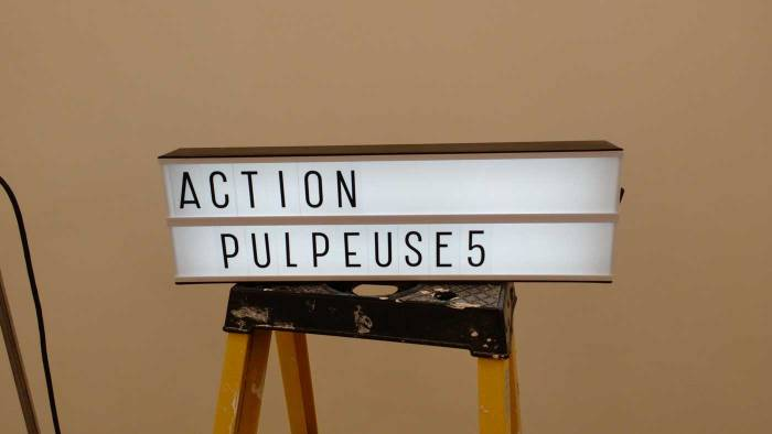 Action Pulpeuse at New Art Projects