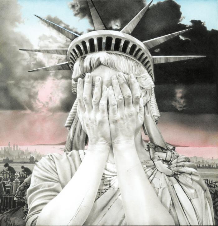 "Gee Voucher, ""Oh America"" (1990"