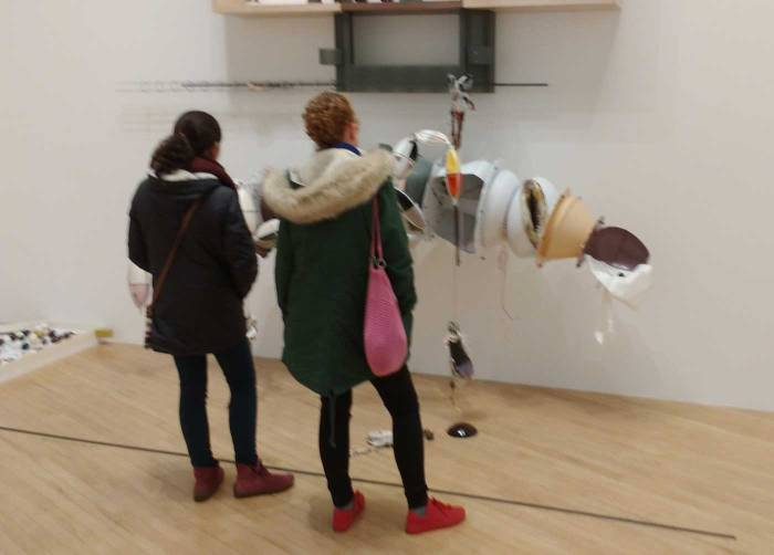 Turner Prize 2016, The Tate - Helen Marten