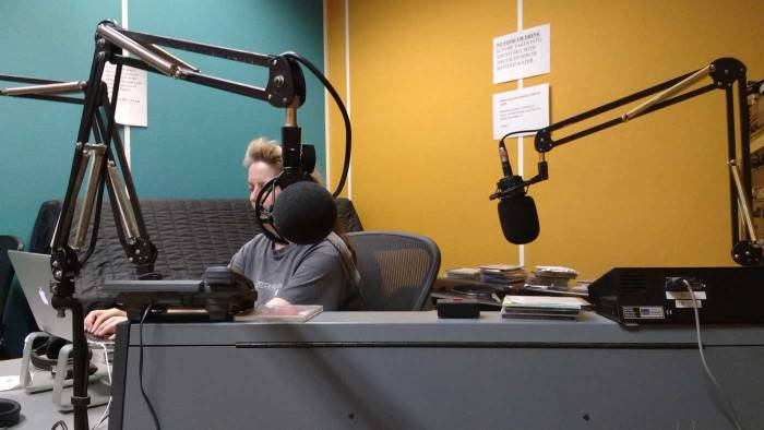 Resonance FM, Borough High St, London, Sunday evening, June 4th 2017