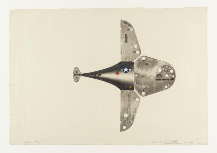 Bomber No. 1 1963 by Colin Self born 1941