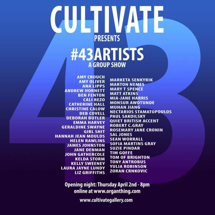 Cultivate43artists_01v2