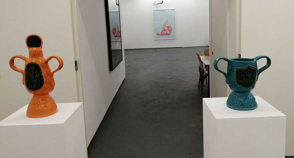 Fredrik Sven Knut Andersson at New Art Projects, East London, Oct/Nov 2020